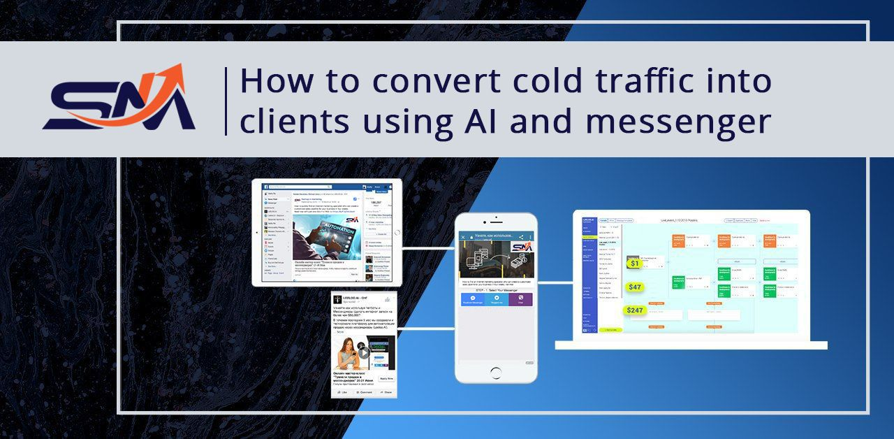 How to convert cold traffic into long term clients using ai and messengers