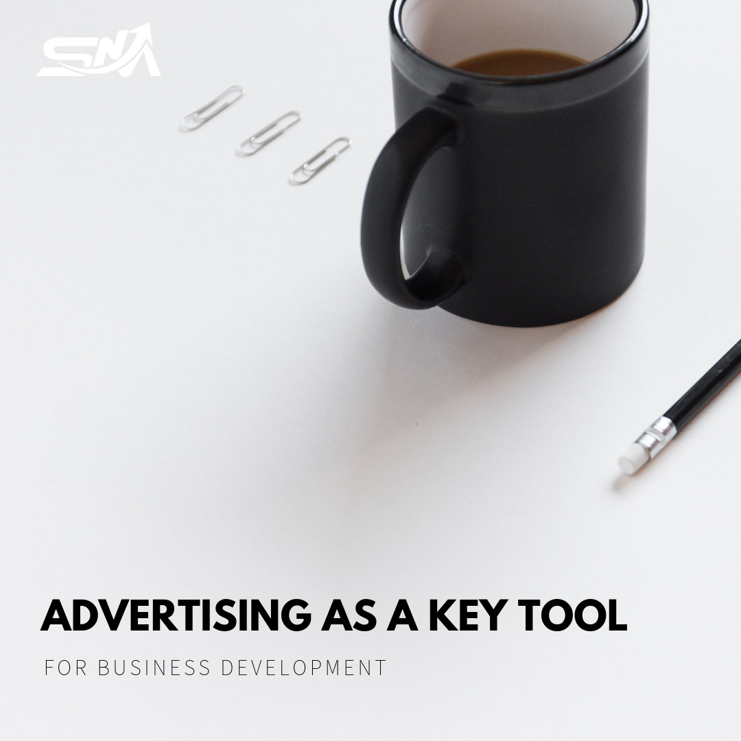 Advertising as a key tool for business development