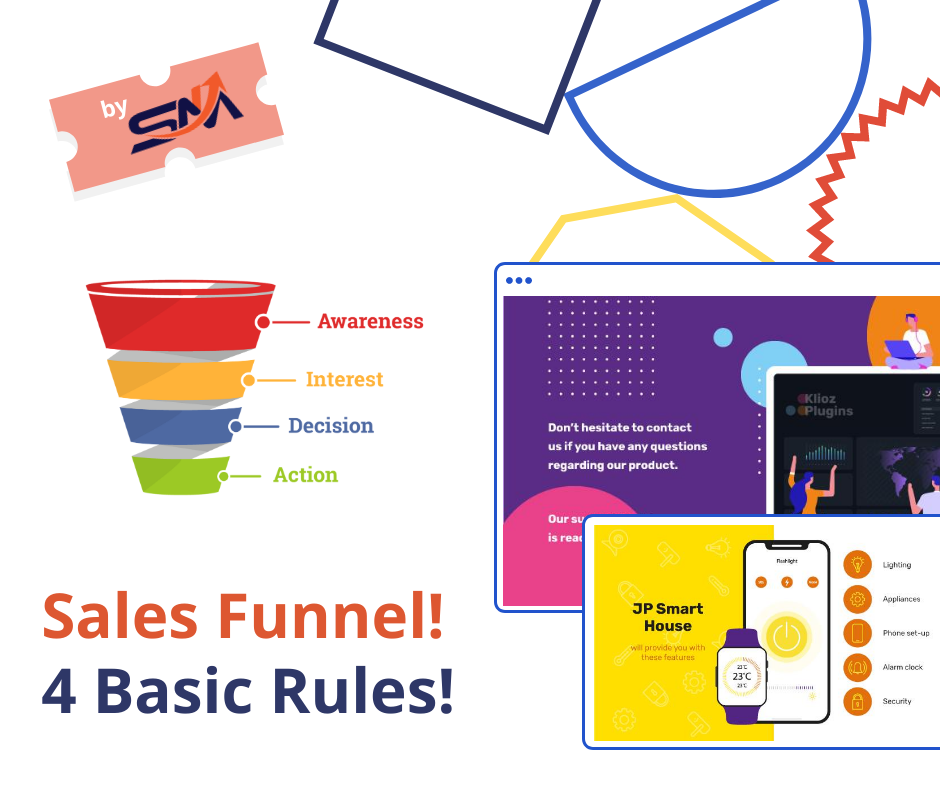 Sales Funnel! Four Basic Rules!