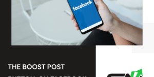 The boost post button on Facebook: Why it's a bad idea?