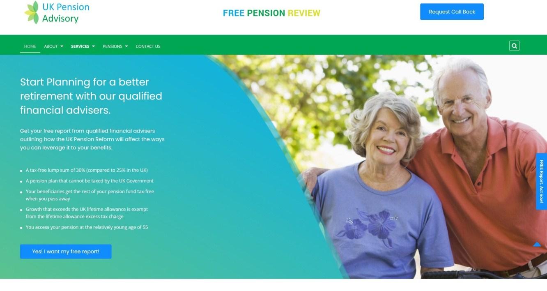 UK Pension Advisory, SEO, PPC & Development Portfolio - Startup N Marketing